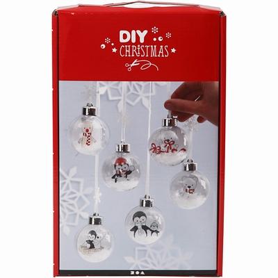 Een set om mooi kerstballen te maken  per stuk