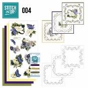 Stitch and Do 4 - Voorjaarsbloemen per stuk