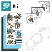 Stitch and Do 12 - Vaderdag per stuk