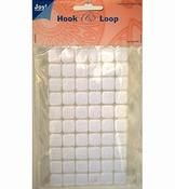 Hook & Loop Klittenband Vierkant per stuk