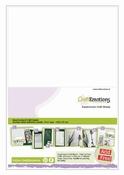 EasyConnect Dubbelzijdig Craft Sheets A5 formaat Per zakje