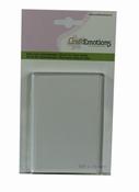 CE Acrylblok rechthoek Per stuk