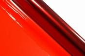 Cellofaan Rood 70 cm breed, rol van 5 meter Per stuk