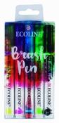 Ecoline brushpen set met 5 kleuren Per stuk