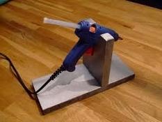 Lijmpistool Houder - Standaard voor glue-gun Per stuk