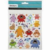 Stickers - Fancy Monsters per stuk