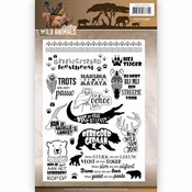 Clearstamp - Amy Design - Wild Animals - Tekst per stuk