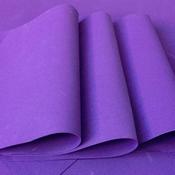 Foamiran Donker Violet - 0,8mm - Flower Foam vanaf