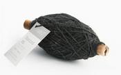 Vivant Jute Flax Koord XS, 1mm, zwart Per Meter
