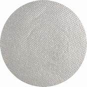 Aqua face - en body paint Silver (shimmer) per stuk