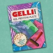 Gel press plate - rechthoek - 5 x 7 inch per stuk
