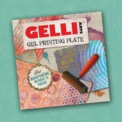 Gel press plate - vierkant 6 x 6 inch per stuk