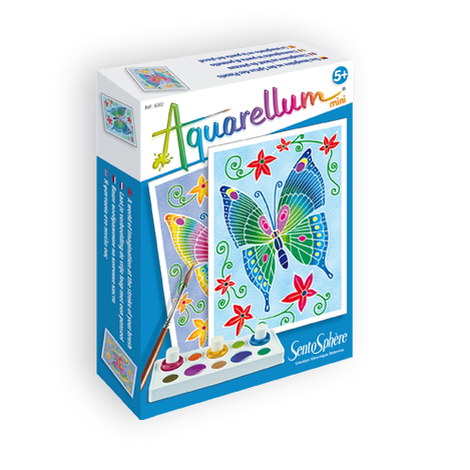 Aquarellum Mini - Sentosphère - Vlinders per stuk