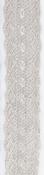 Kant lint Duchesse Ivoor - 46mm breed per meter