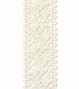 Kant lint Chantilly Crème / Ivoor - 22mm breed per meter