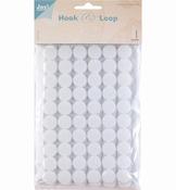 Hook & Loop Klittenband rond per stuk