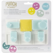 We R Memory Keepers - Emoji Punch Board Per stuk