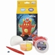 Easy kit Foamclay + Silk Clay Ugly Monsters Rood Per stuk