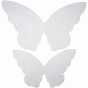 Vlinder vleugels 20 stuks in 2 maten Per zakje