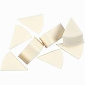 Sponzen, b: 25 mm, 8 stuk  Per stuk