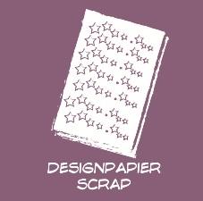 Design papier - Scrap - A4 - Blokken
