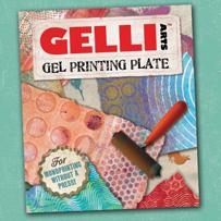 Gelli Plate - Gel press plate - monoprint
