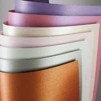 Metallic + Parelmoer Papier & karton